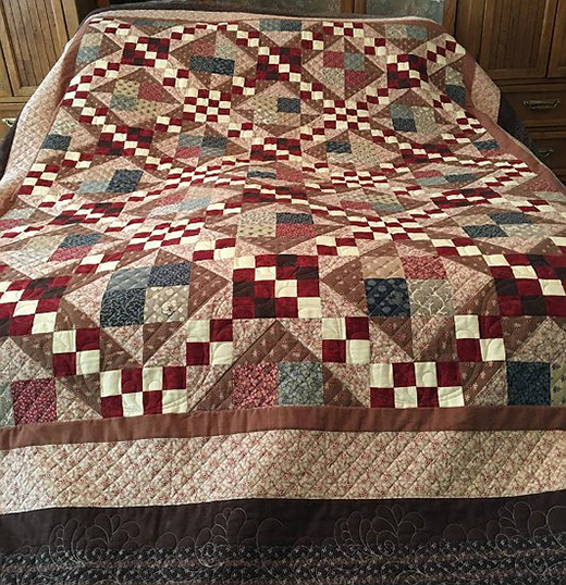 Battle Hymn Quilt Free Pattern