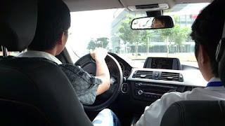 thi lái xe ô tô b1, b2, c ngoài đường trường