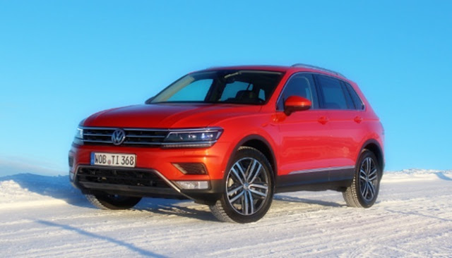 2018 VW Tiguan Redesign, Rumors