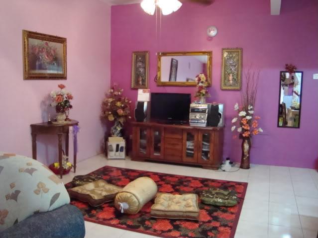 Pink Ruang Tamu Dekorasi Rumah Tatarias Cara