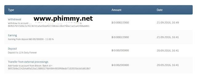 Thanh toán đầu tiên từ bitday