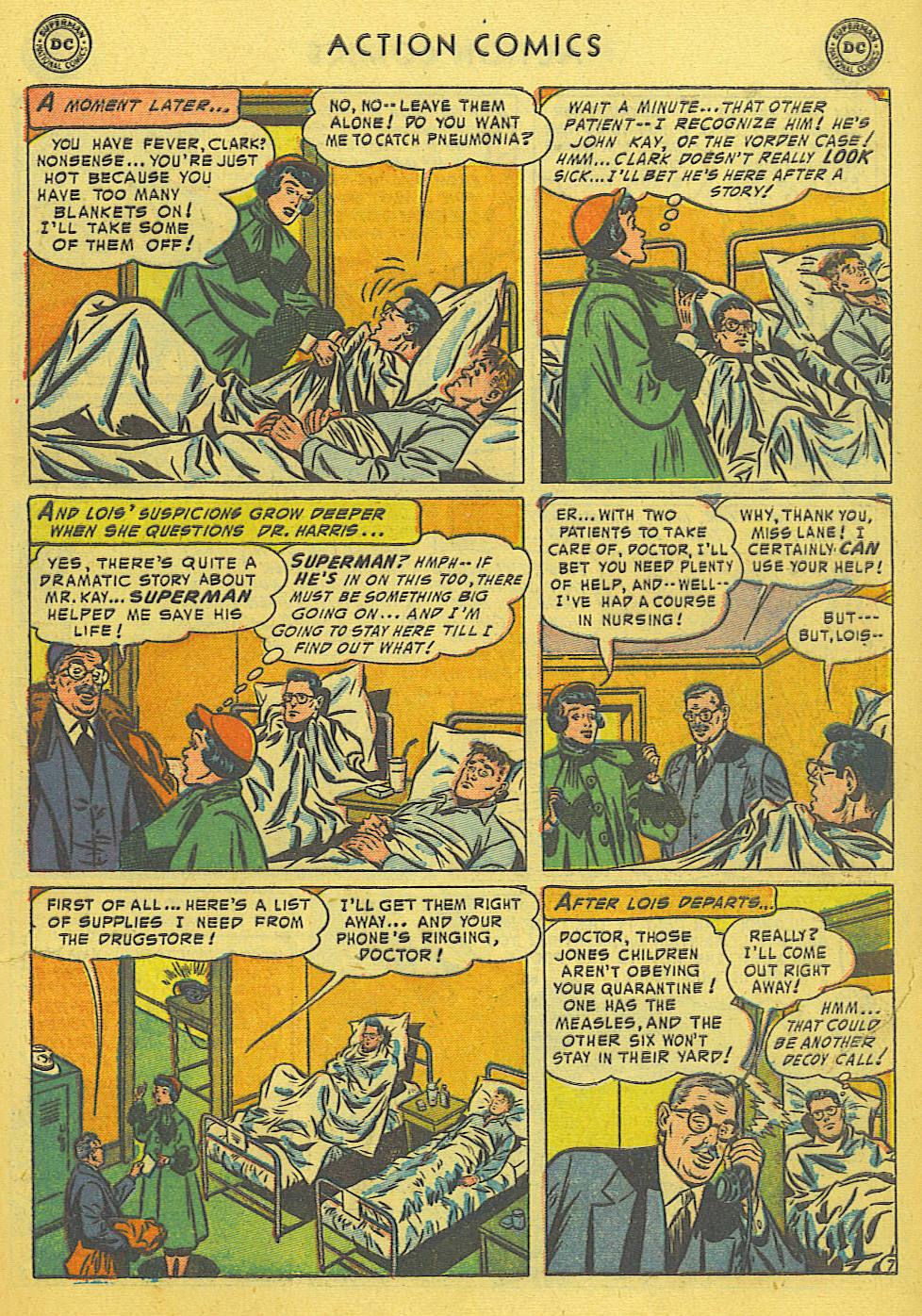 Action Comics (1938) 191 Page 8