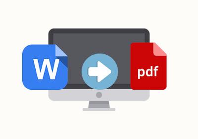 شرح تحويل ملفات Word الى PDF