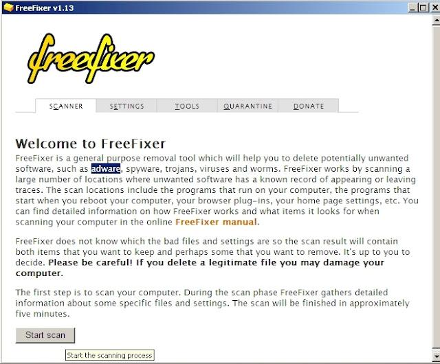 FreeFixer - Solo Nuevas