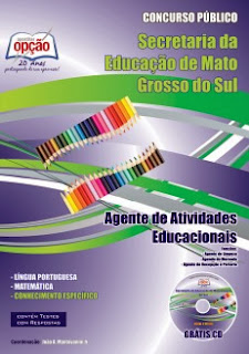 Apostila SED-MS - Agente de Atividades Educacionais