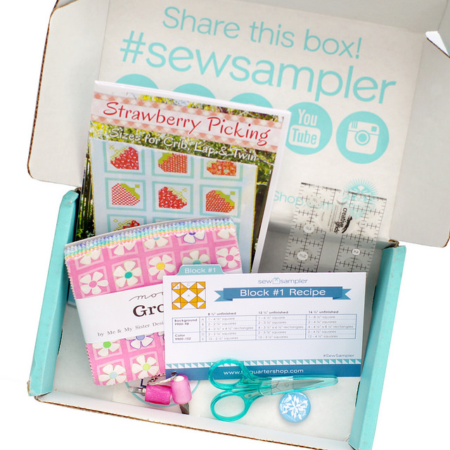 The Sew Sampler Box from The Fat Quarter Shop
