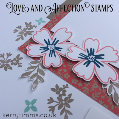 love and affection stamps stampin up kerry timms cardmaking class scrapbook creative crafts papercraft memory making layout photo flowers hobby