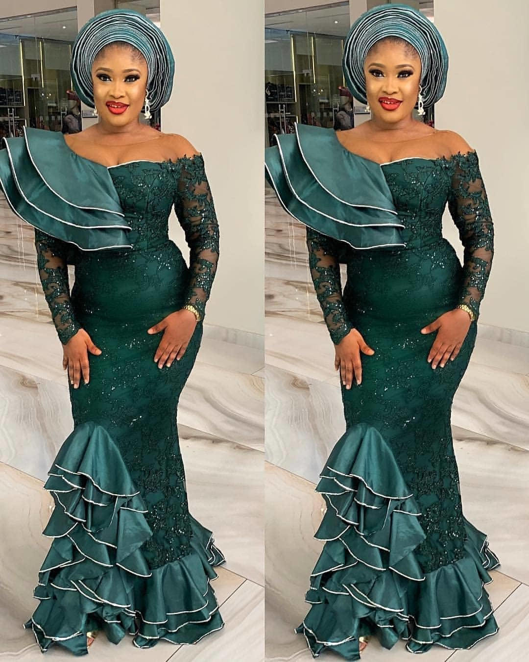 Classic Aso Ebi Dresses And Styles For The Wedding Guests