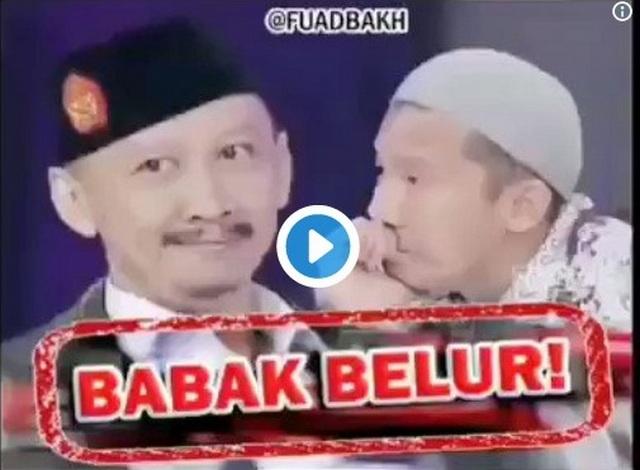 Viral di Sosmed Video Edited Penampilan Abu Janda di ILC Yang Bikin Ngakak Abis 😂