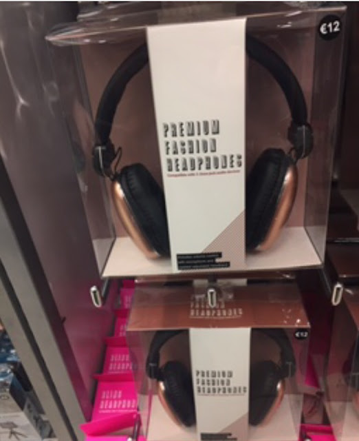 Primark Copper Headphones