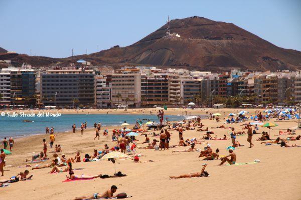 spiaggia Las Canteras a Las Palmas