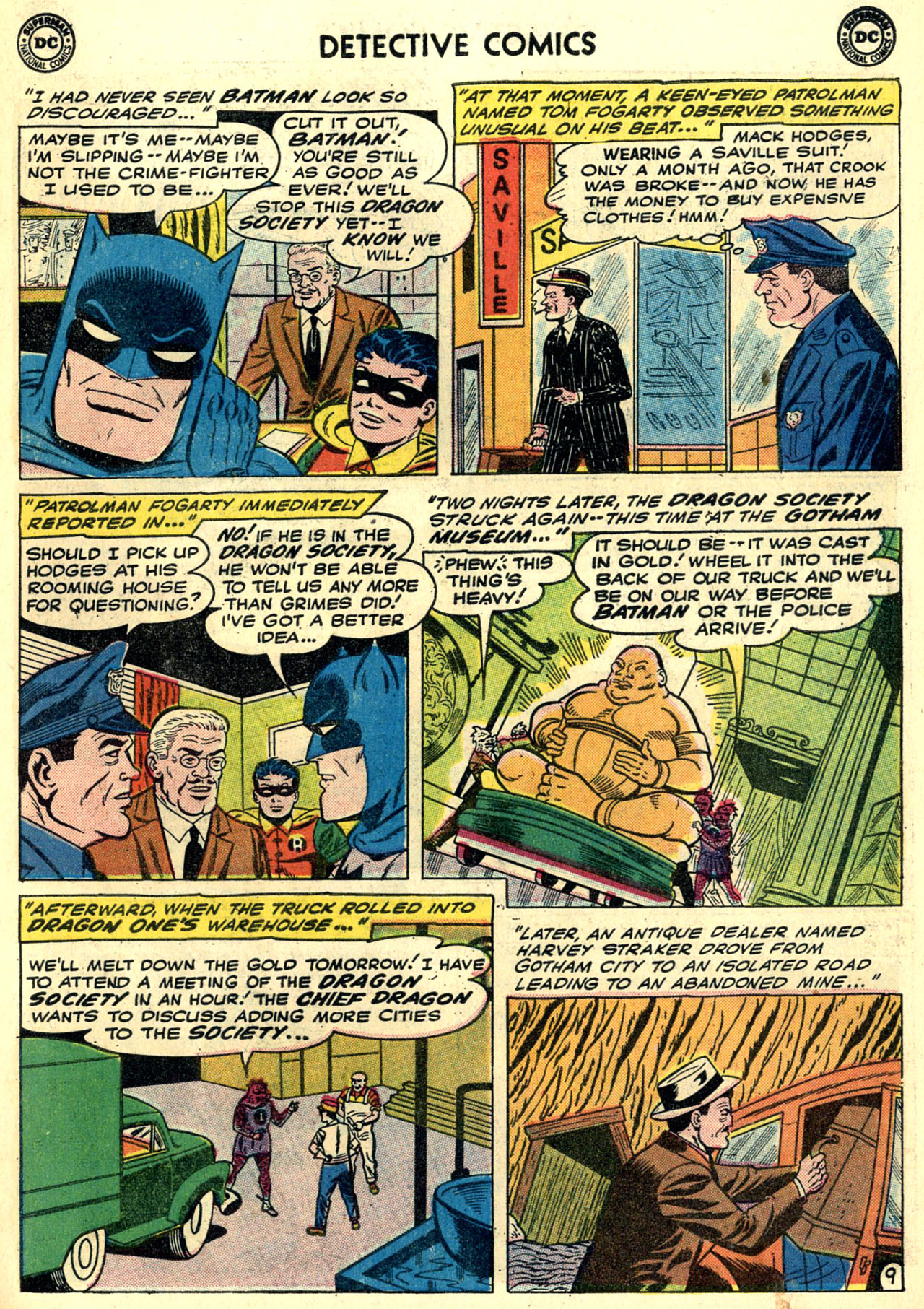 Read online Detective Comics (1937) comic -  Issue #273 - 11