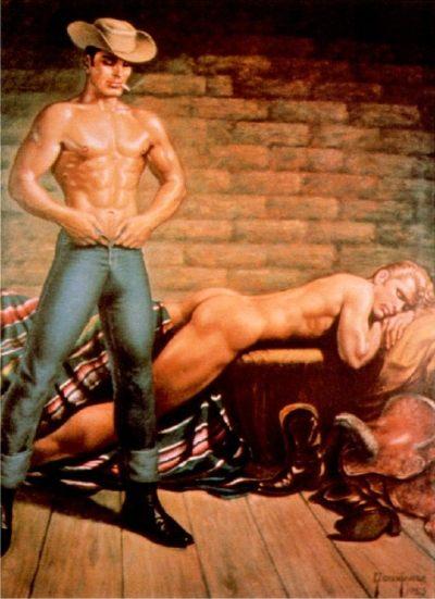 Vaqueros Gay Porno