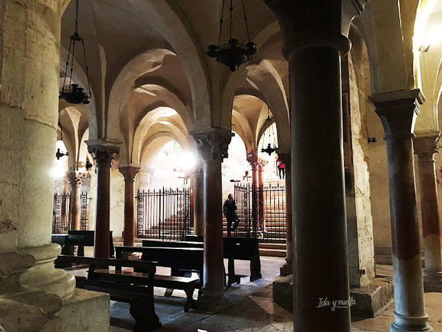 San Zeno Verona vista de la cripta