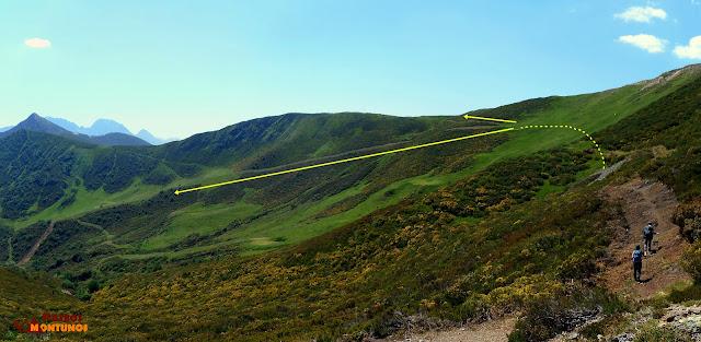 Camino del Alto de Las Navariegas