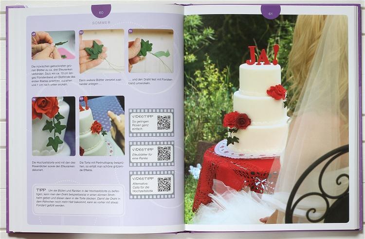 Buchvorstellung/Rezension Crazy Cake Design von Stefanie Noé 3