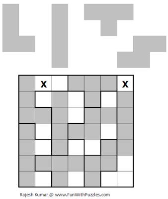 LITS (Mini Puzzles #2) Solution