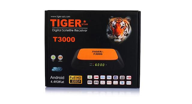 مواصفات جهاز التايجر TIGER T3000 Android مع رابط لتحميل آخر سوفت للجهاز 2017