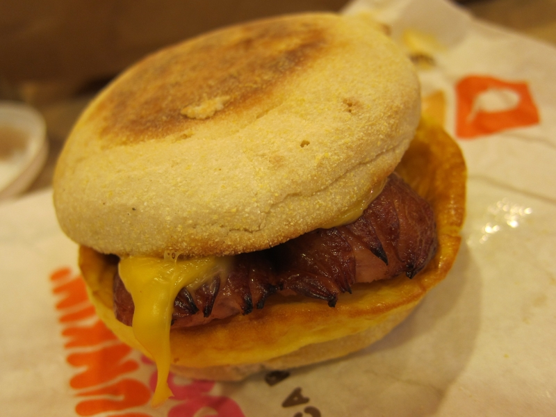 How Much Is A Bacon Egg And Cheese At Dunkin Donuts
