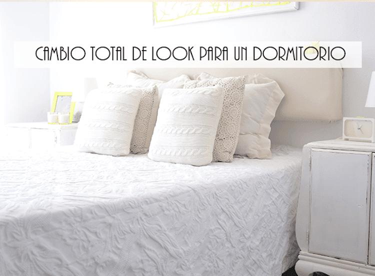 Antes y Después de un dormitorio DIY