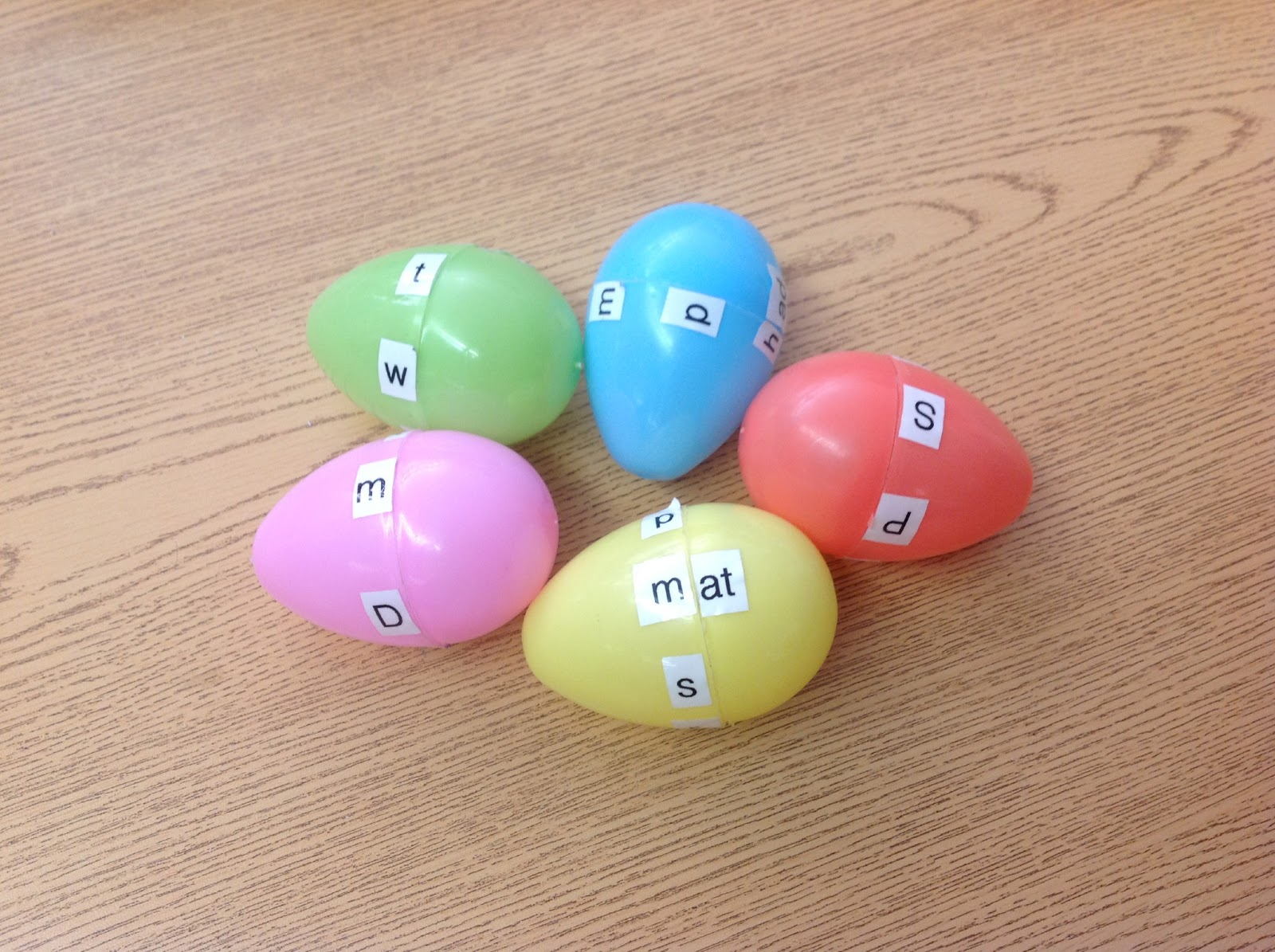 A Day In The Life Of A Kindergartner Easter Egg Word