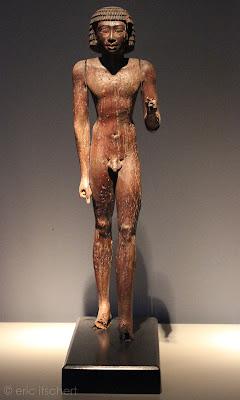 Critiques, Sculptures, Égypte antique, statue, homme nu, Brafa 2016, harmakhis,