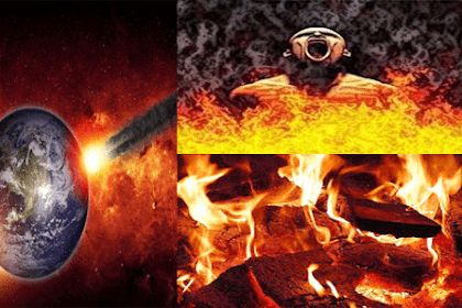 Naudzubillah, Ternyata Api Neraka Sudah Pernah Sampai ke Dunia, Beginilah Panasnya Api Tersebut