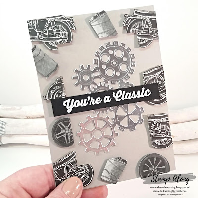 Stampin' Up! Geared Up Garage - Floating card