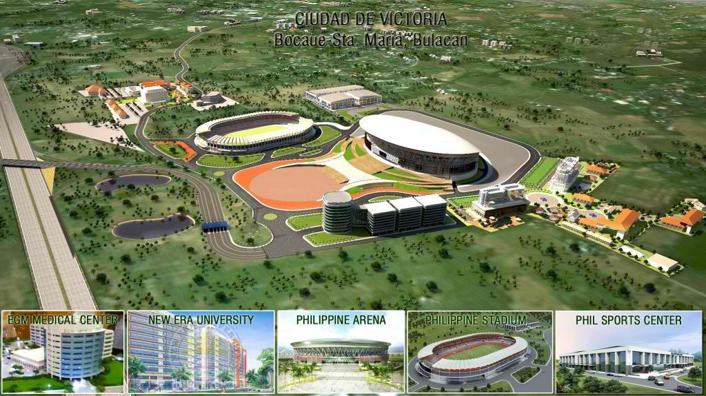 Philippine Arena And Philippine Stadium Feb 2013 Update