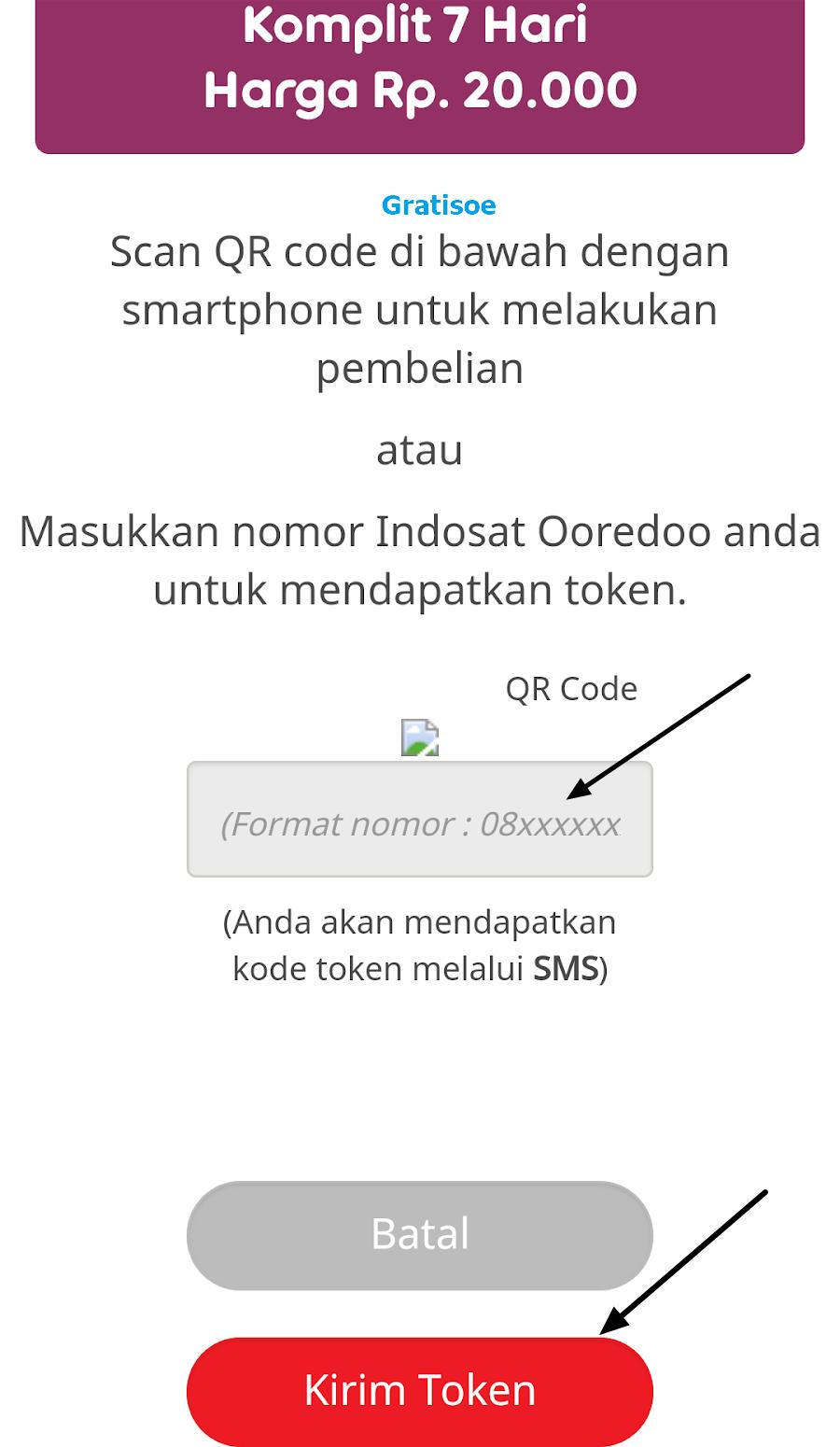 Tembak Paket Indosat Ooredoo 7 Hari Unlimited Gratis Online Im3 Rp0 Masukkan Nomer