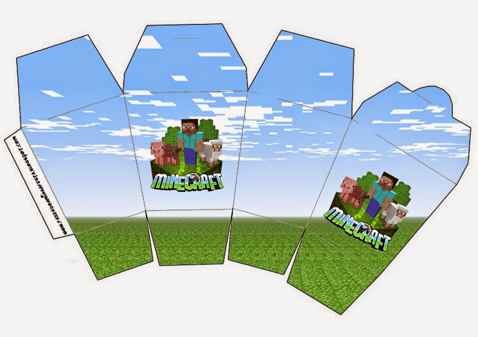 minecraft free printable boxes. | oh my fiesta! in english
