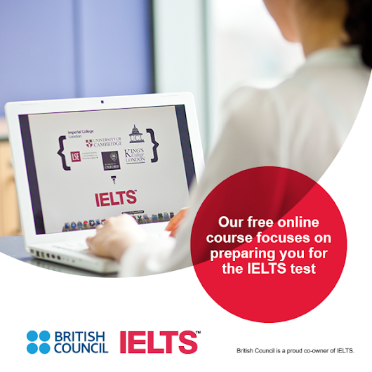 Join IELTS Online Learning Program today by British Council