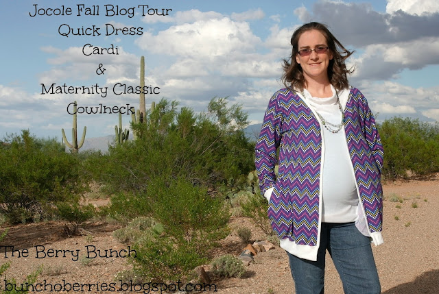 The Berry Bunch: Jocole Fall Blog Tour: Sewing up some Maternity Style Clothes! {Discount + Giveaway!}