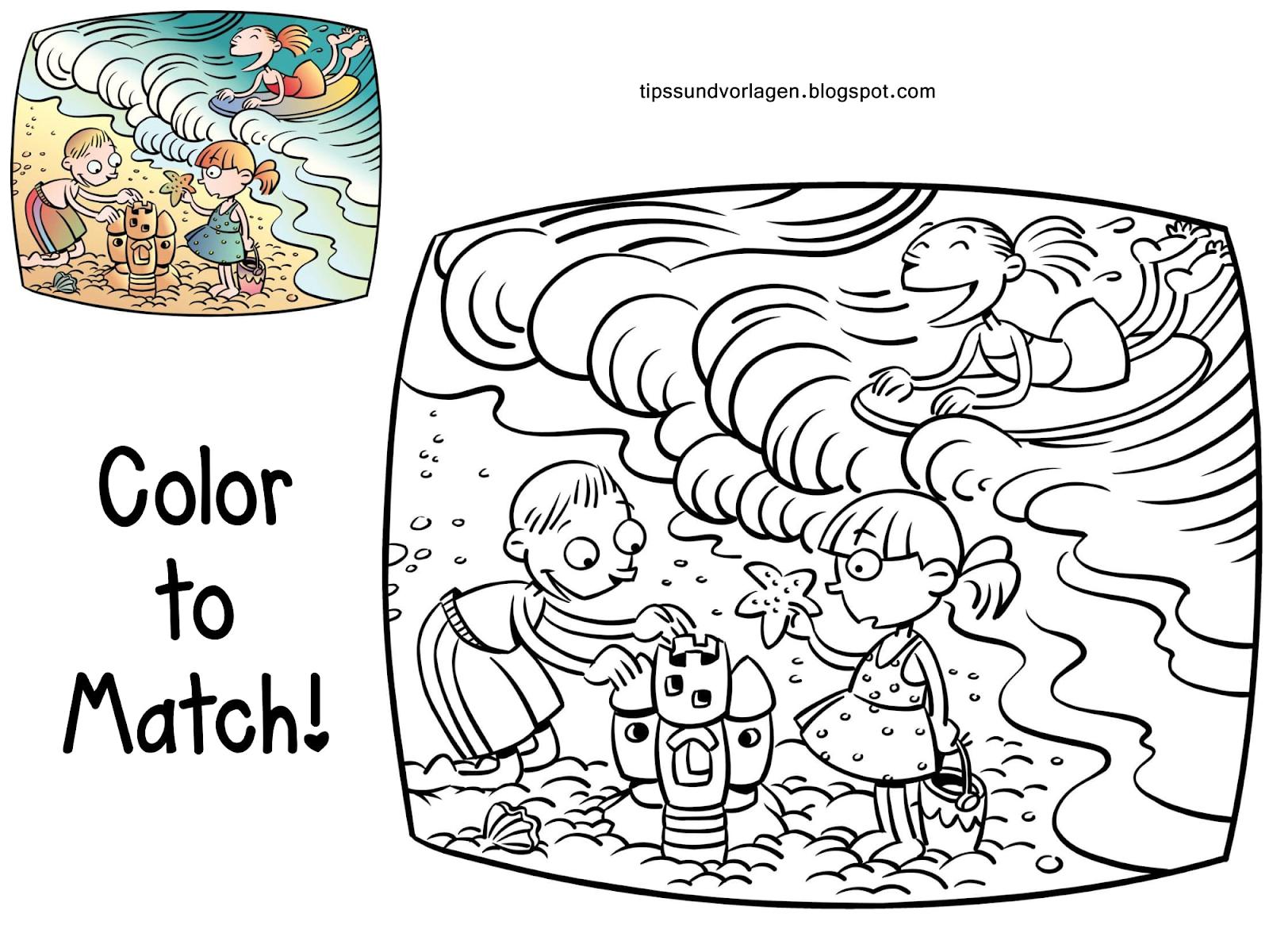 - Summer Coloring Pages For Toddler - Tipss Und Vorlagen