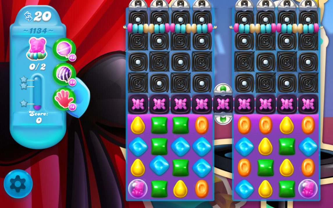 Candy Crush Soda Saga level 1134