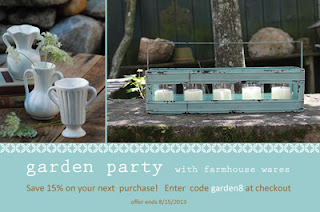 farmhouse wares coupon code