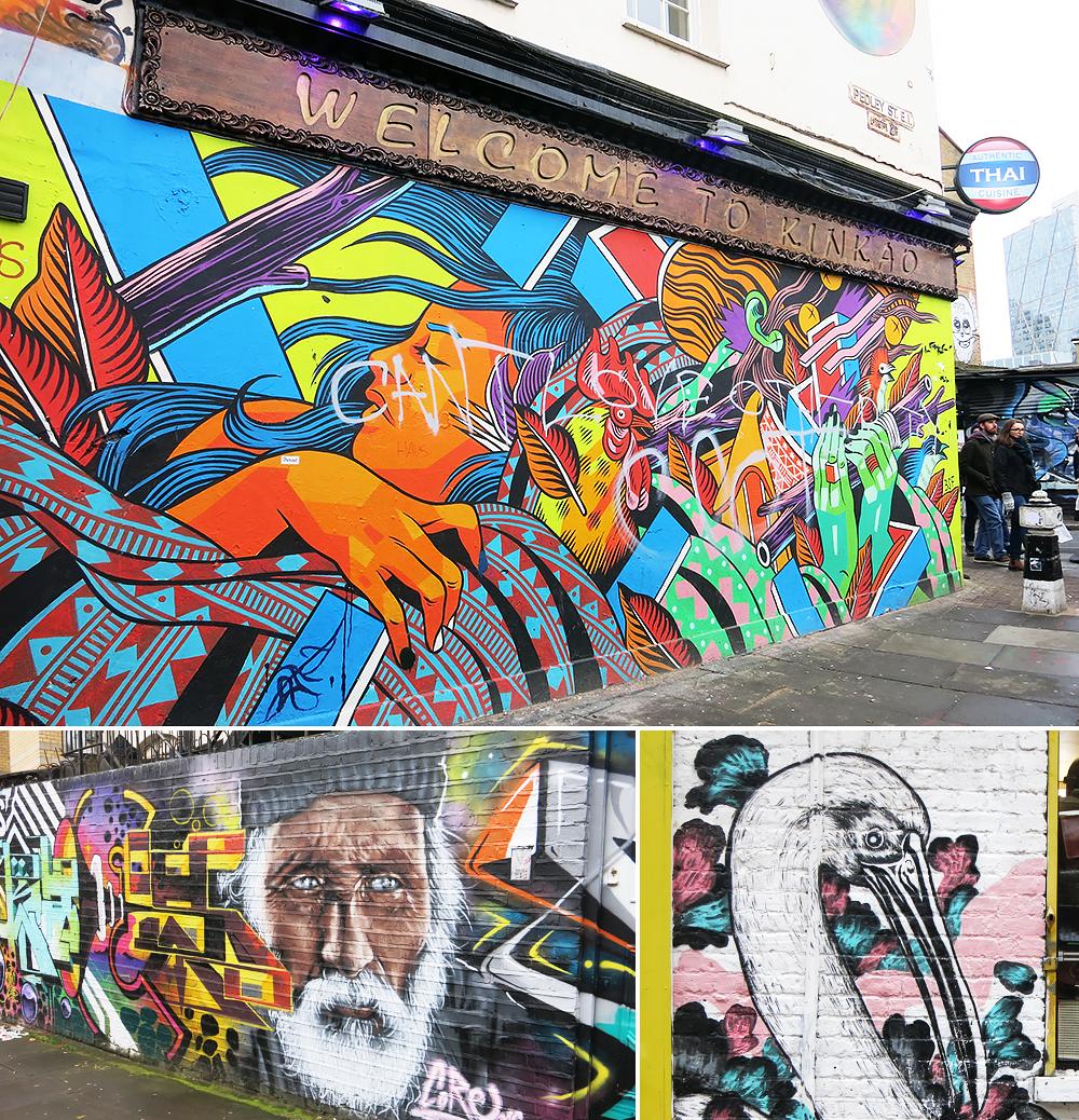 London Brick Lane Street Art Tour