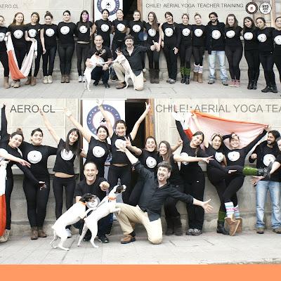 FORMACION PROFESORES AEROYOGA (YOGA AEREO) BY RAFAEL MARTINEZ