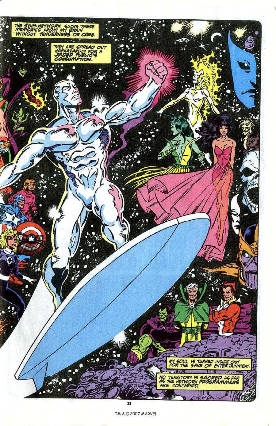 Read online Silver Surfer (1987) comic -  Issue #41 - 25