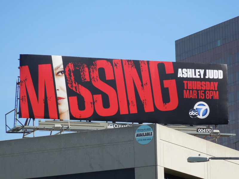 Missing season 1 billboard