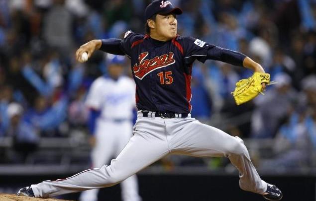 El derecho de 28 años de edad fue integrante de la selección japonesa que conquistó el título del Clásico Mundial en el 2009.
