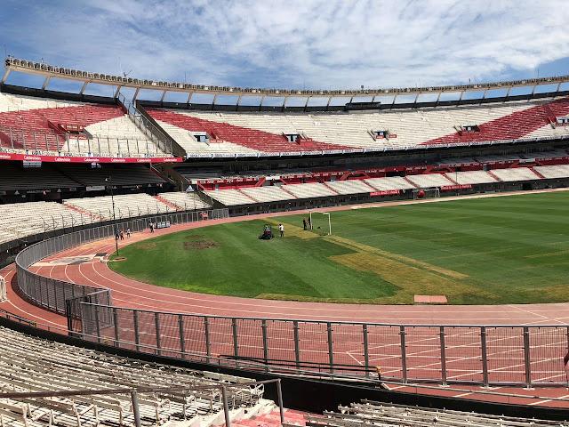 Estadio, Monumental, Tribuna, Centenario, Baja, Sin alambrado, nuevas vallas, D'Onofrio