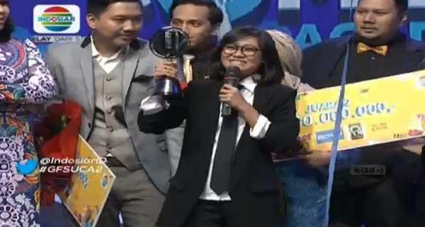 Aci Resti juara 1 Stand Up Comedy Academy 2, Indosiar