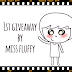 1st Giveaway by Miss Fluffy