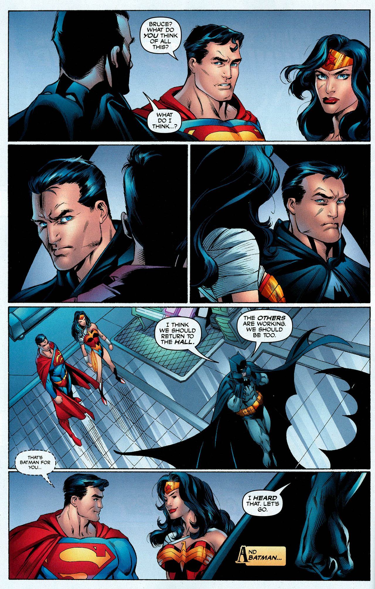 Read online Trinity (2008) comic -  Issue #6 - 15