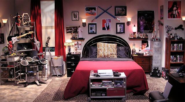 Decoración de Dormitorios de Series de Televisión