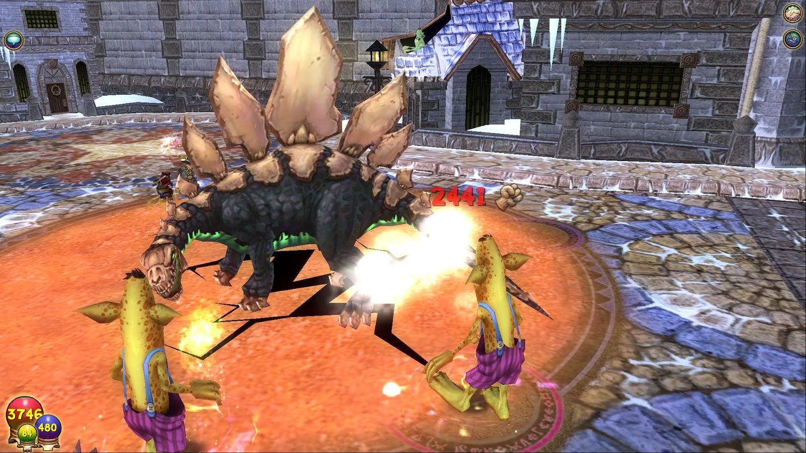 Wizard101 fossil