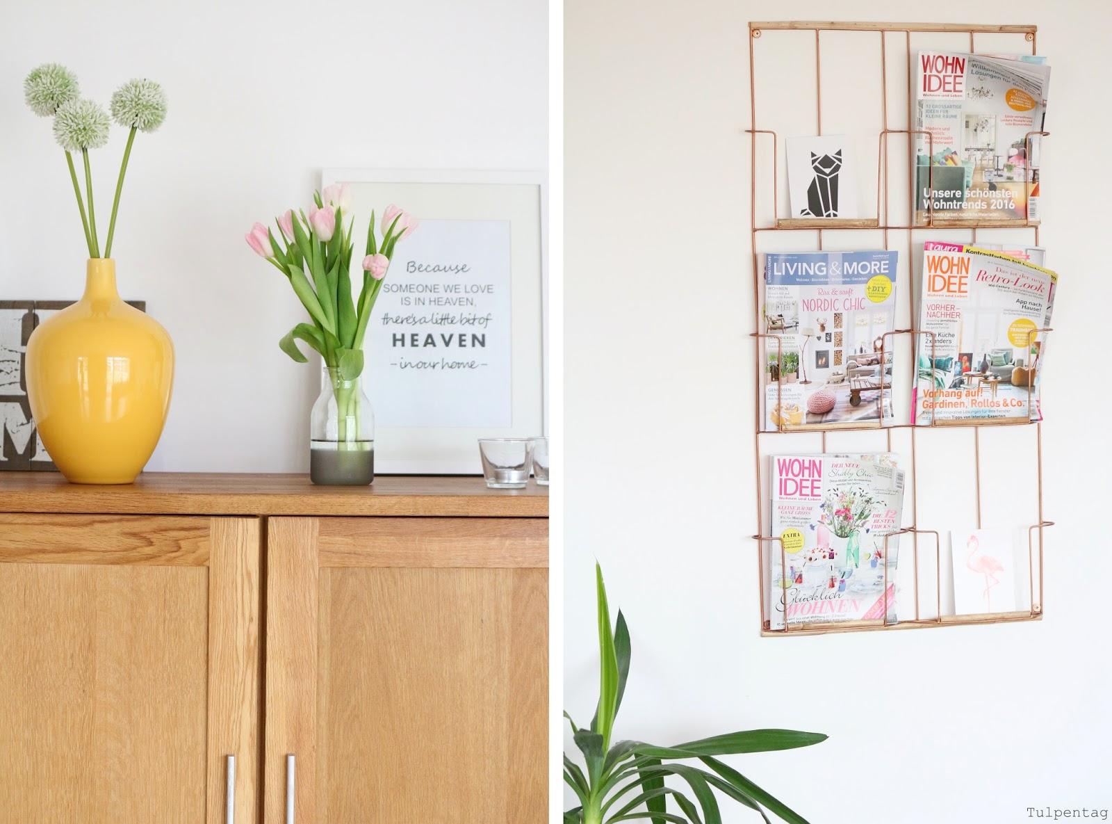 pastell deko und tulpen den fr hling ins haus holen. Black Bedroom Furniture Sets. Home Design Ideas