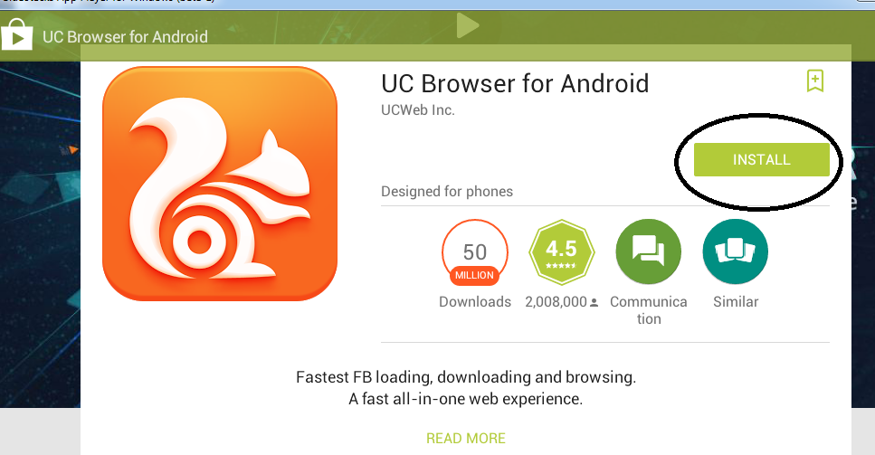 Download UC Browser Untuk PC (Windows xp,7 dan 8)
