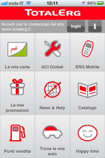 L'app ufficiale di TotalErg per iPhone.